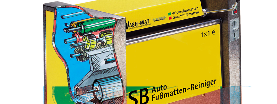Wash-Mat Auto-Fußmatten Reinigung Selbst Service Maschinen Modelle: